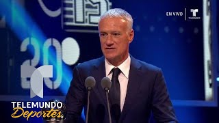 Didier Deschamps, mejor Entrenador de la FIFA | Premios The Best de la FIFA | Telemundo Deportes