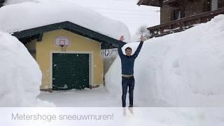 Sneeuwchaos Oostenrijk 06-01-2019
