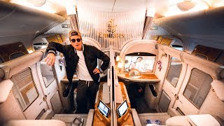 FLYING EMIRATES FIRST CLASS IS AN EXPERIENCE! | VLOG² 145