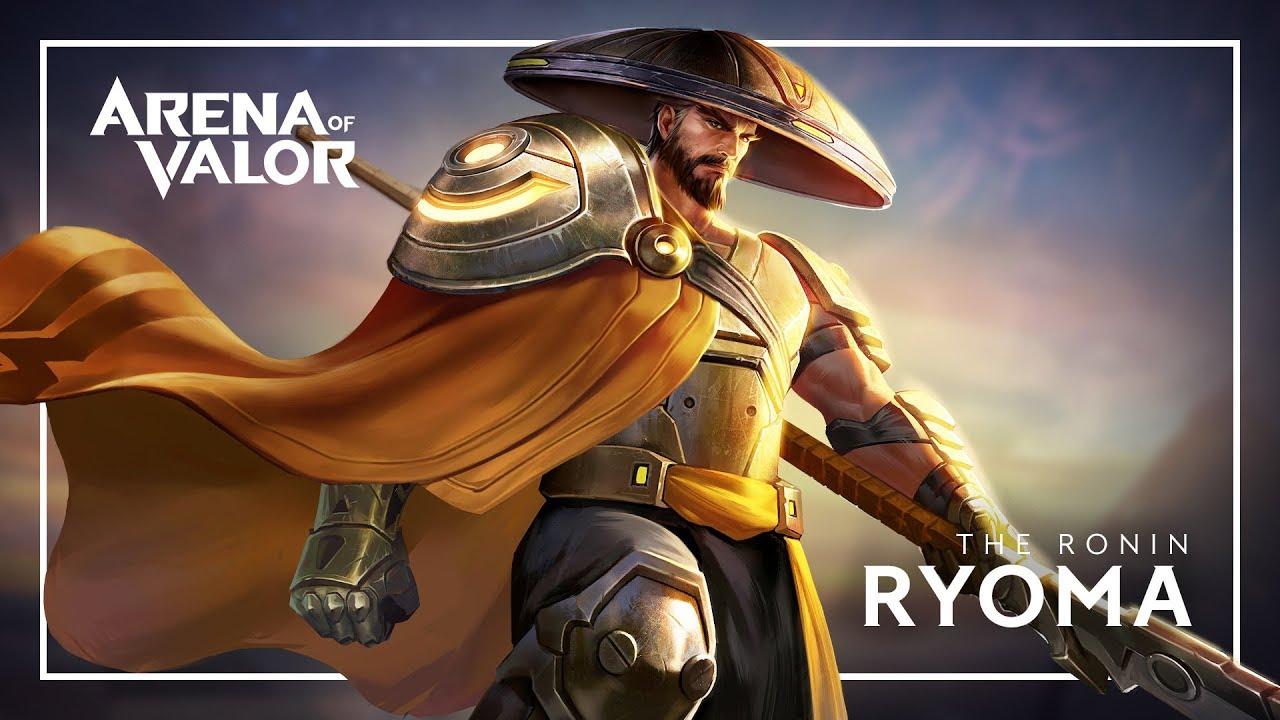 Ryoma Hero Spotlight Gameplay Arena Of Valor