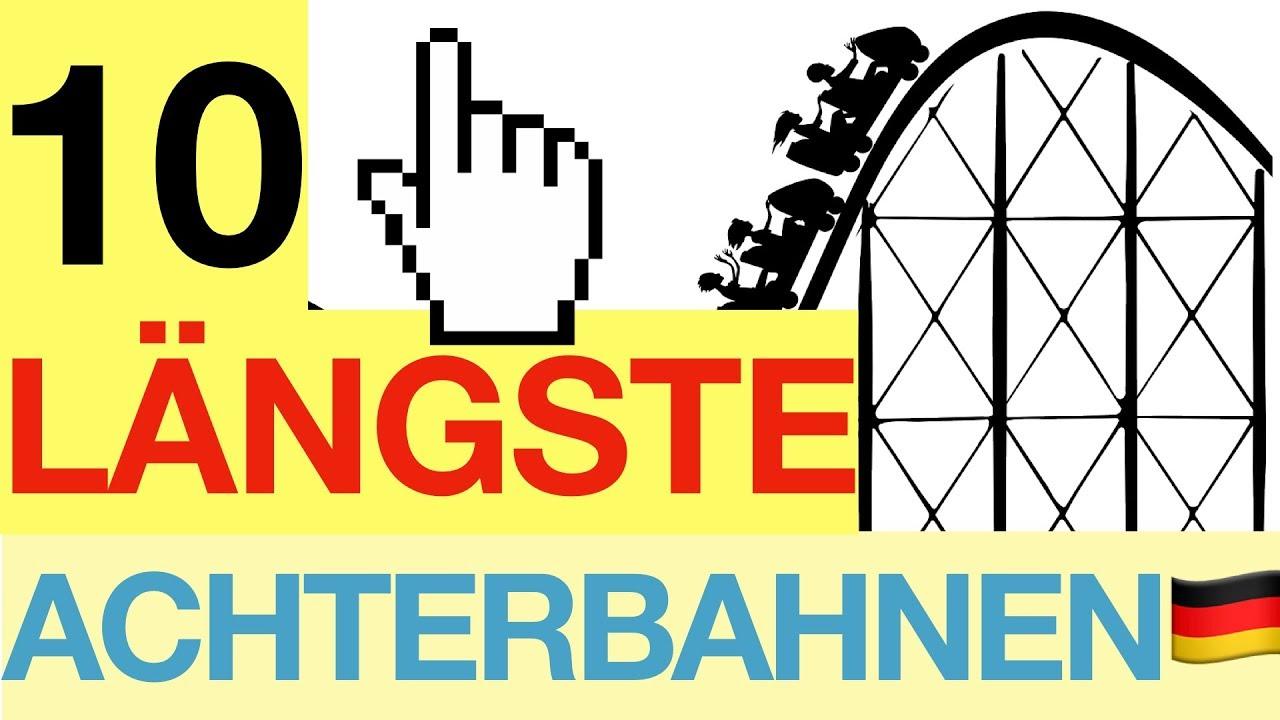 Freizeitpark Norddeutschland Karte.10 Längste Achterbahnen Deutschlands Besserwissen