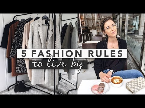 5 Fashion Rules to Live By | Erin Elizabeth