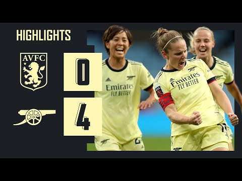 HIGHLIGHTS   Aston Villa vs Arsenal (0-4)   Little with her 150th goal, McCabe from 40 yards!