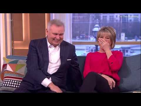 Brenda Blethyn gets humped by her dog on This Morning