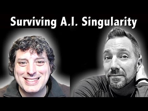 "🔴 LIVE: Surviving The Artificial Intelligence (A.I.) Singularity - Jacob Israel - ""Tarrin It Up"""