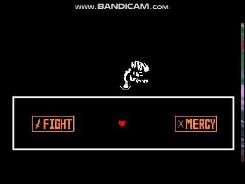 Undertale Neutral Route Mercy Or Fight Youtube