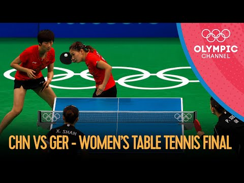 Table Tennis: Women's Team Gold Match | Rio 2016 Replays