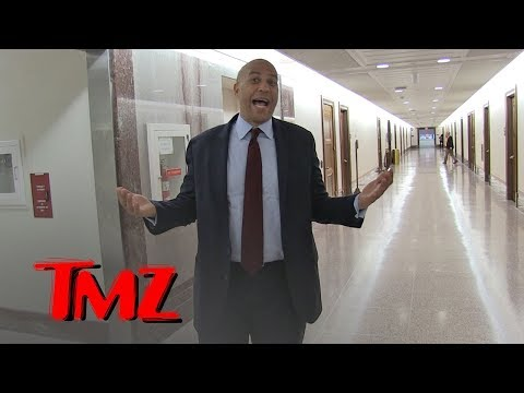 Senator Cory Booker Says Trump and Biden Should Snowball Fight it Out   TMZ