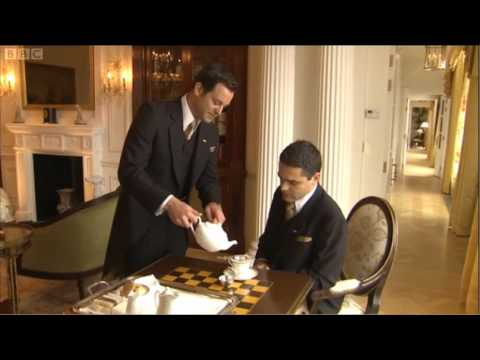 Butler Training at the Savoy