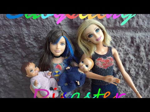 Barbie-Babysitting Disaster Part 1 Episode 2