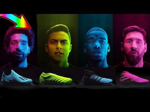 New Season Boots For Messi, Salah, Pogba, Dybala - Adidas Hard Wired