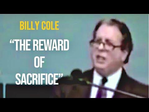 "Bishop Billy H. Cole preaching ""The Reward of Sacrifice"" 1989"