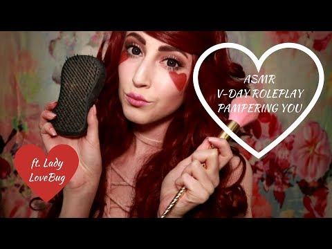 [ASMR] Let Lady LoveBug Pamper You (personal attention triggers)