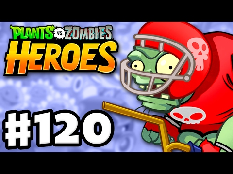 Defensive End! - Plants vs. Zombies: Heroes - Gameplay Walkthrough Part 120 (iOS, Android)