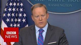 Trump Muslim ban plan erased from website   BBC News
