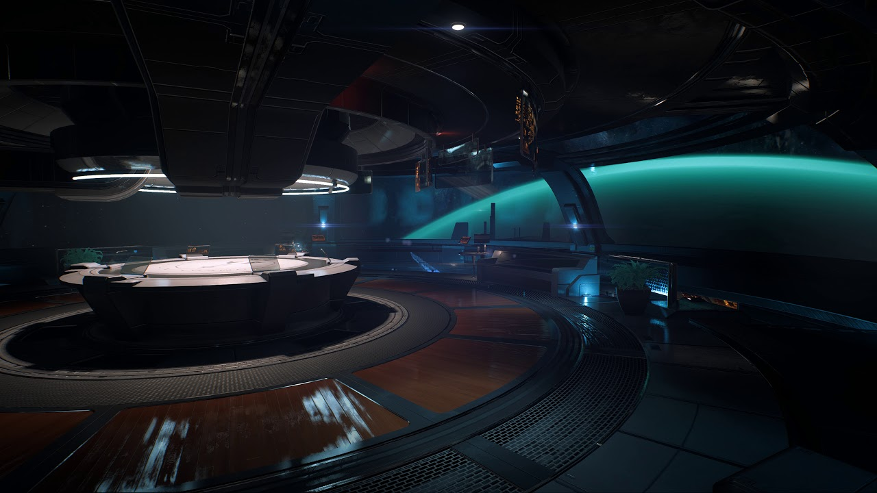 Tempest Command Station Turquoise Planet Me Andromeda