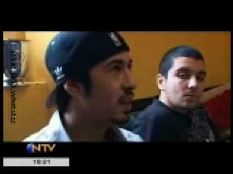 Ceza Röportaj ( Gece Gündüz NTV Türkiyede Rap ) Part1