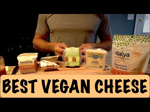 The 5 Best VEGAN CHEESES - Wow!