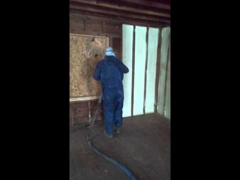 Closed cell foam work