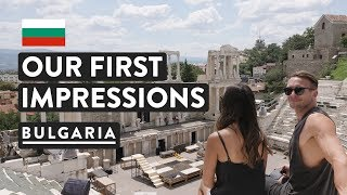BULGARIA IS UNDERRATED! Plovdiv Travel Vlog Ancient Theatre | Digital Nomad 2018