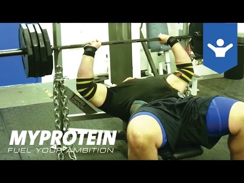 How to Bench Press with Terry Hollands by Myprotein
