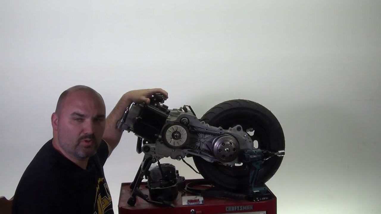 How to Change Roller Weights In Your 50cc Scooter