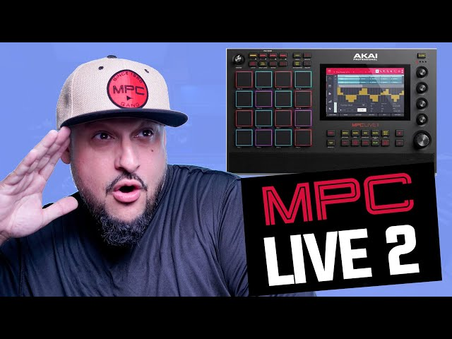 Did Akai (ACCIDENTALLY) Release the MPC Live 2?!?!