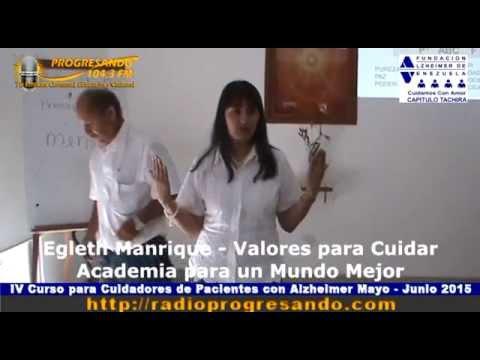 IV Curso para Cuidadores de Pacientes con Alzheimer Mayo – Junio 2015