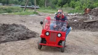 видео: детский электромобиль- мини гольфкар