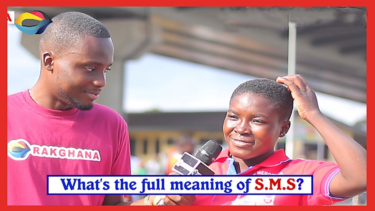 What Does Sms Stand For >> What Does Sms Stand For Street Quiz Funny Videos Funny African Videos