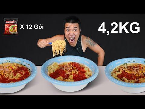 NTN  - Thử Thách Thi Ăn Hết 4,2KG Mì Tôm Chua Cay Tập 1(4.2KG Noodle Eating Challenge )