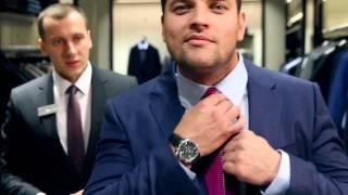 видео Мужские костюмы Hugo Boss