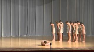 """Керчь 2013. Современная хореография, младшая возрастная категория - """"Через край""""."""