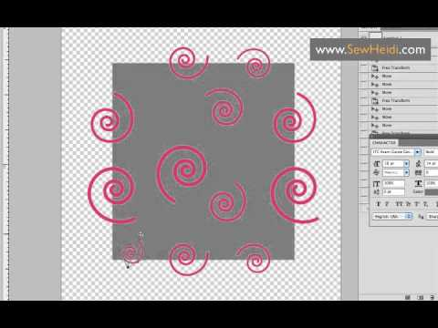 Seamless Repeating Patterns In Photoshop Using Vector Smart Objects Cool Repeat Pattern Illustrator