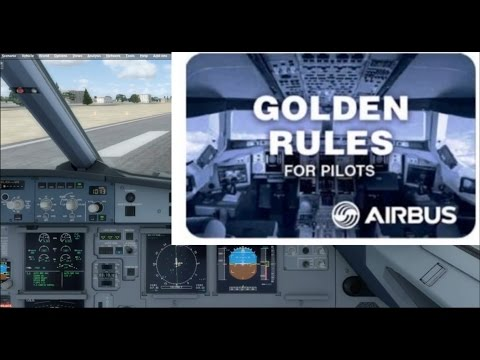 Its Airbus : Circuit and Landing A320