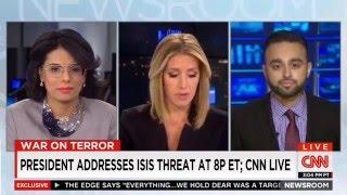 CNN: Ahmadiyya Muslim Spokesperson @Harris_Zafar About Solving Terrorism