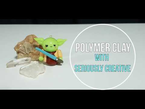 Polymer Clay Yoda Time Lapse