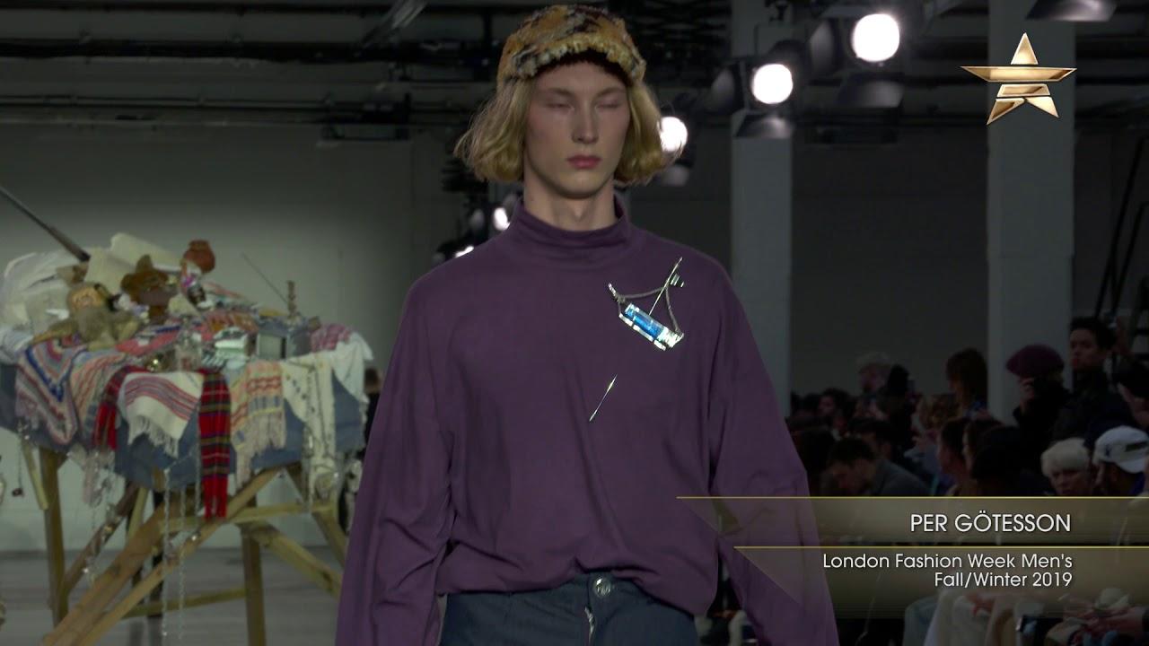 eaf813cc PER GÖTESSON London Fashion Week Men's Fall/Winter 2019 - Fashion One