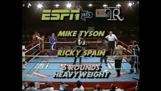 Mike Tyson vs Ricardo Spain 20.6.1985 (National Television Debut)