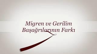 MİGREN VE GERİLİM BAŞAĞRILARI ARASINDAKİ FARKLAR Prof Dr Abdulkadir Koçer