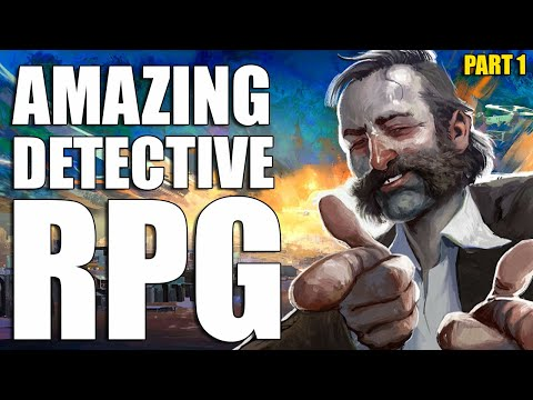 Disco Elysium | Detective RPG  | First Hour Of Gameplay