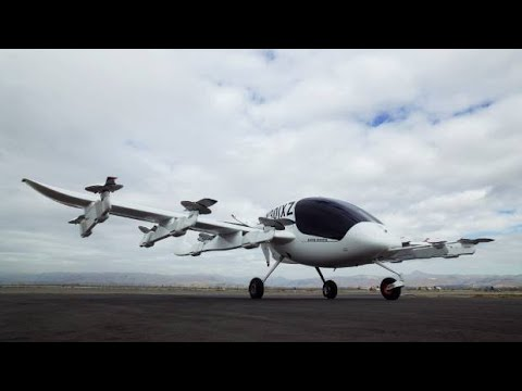 CORA | Flying Taxi from Google Backed Startup - Kitty Hawk | LearnED