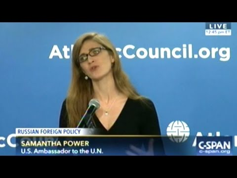 Outgoing U.S. Ambassador To United Nations Makes Clear RUSSIA IS PURE EVIL!