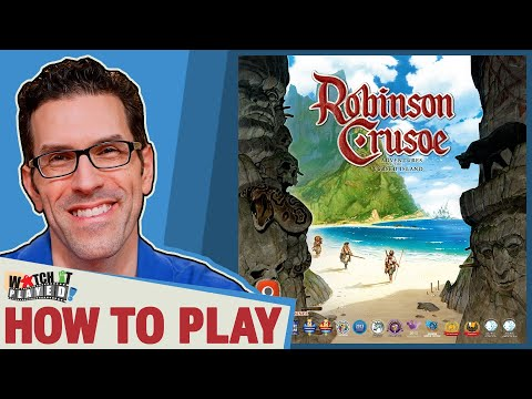 Robinson Crusoe - 2nd Edition - How To Play