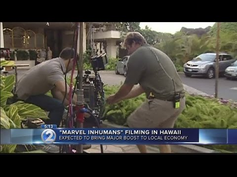 TV show 'Marvel's Inhumans' expected to boost Hawaii's economy