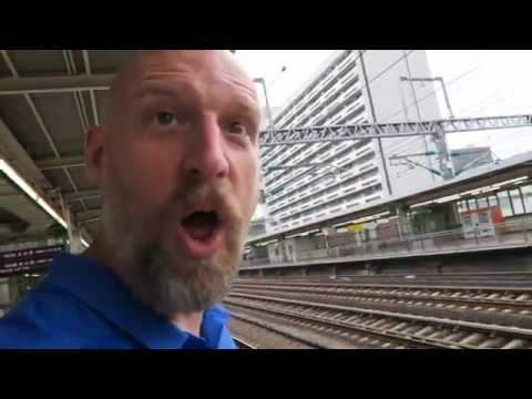 Download The Japanese Shinkansen Bullet Train is SO FAST (you'll miss it if you blink) | JAPAN TRAVEL VLOG #5