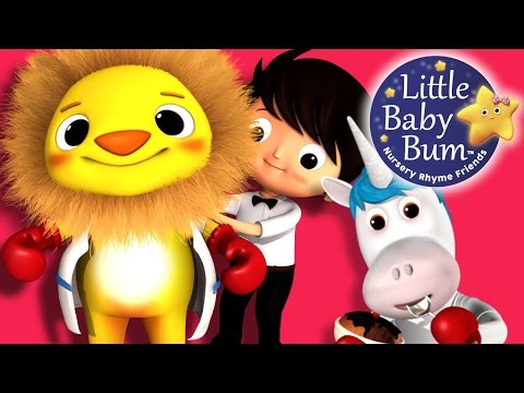 The Lion and The Unicorn | Nursery Rhymes | By LittleBabyBum!