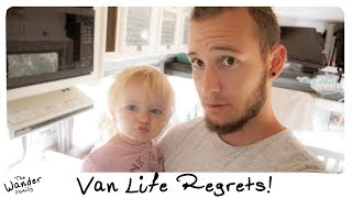 Van Life Regrets! Reality of Living on the Road | The Wander Family
