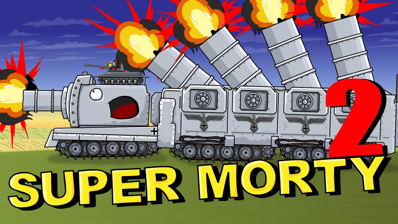 """Download """"New Tank Morty Hammer"""" Cartoons about tanks"""