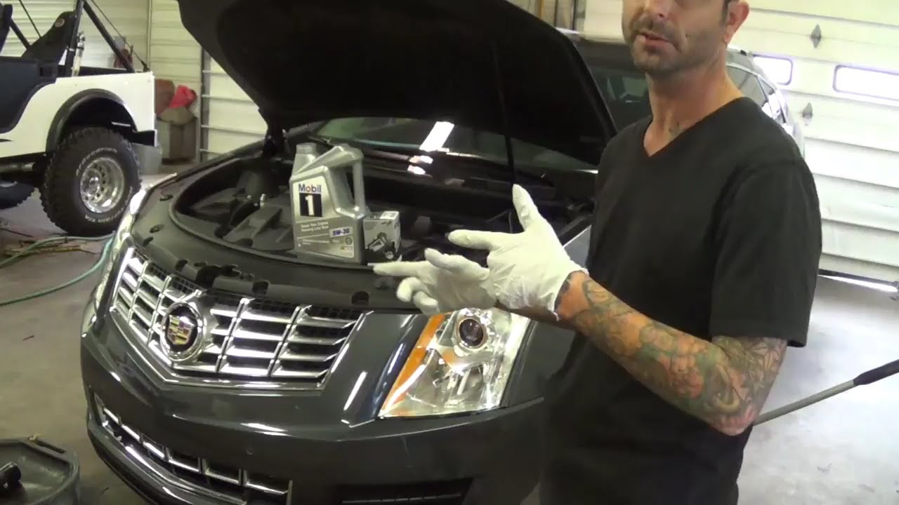 2013 CADILLAC SRX OIL CHANGE RESET OIL LIGHT RESET 3.6L ...